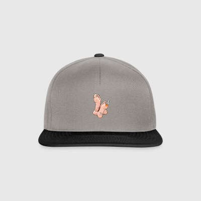 Missile Toe Funny Vischio Natale Natale vacanze - Snapback Cap