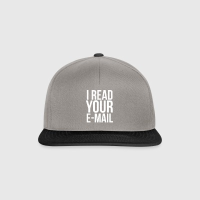 Ich lese Ihre E-Mail - Systemadministrator - Snapback Cap