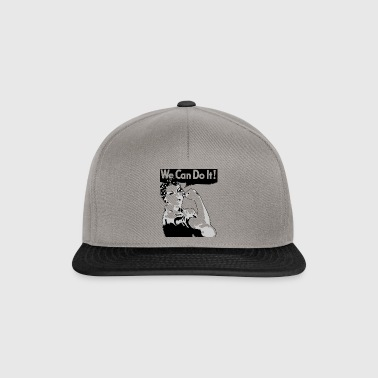 woman We can do it! - Snapback Cap