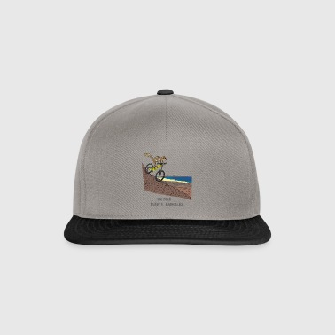 Fuerte Animales Atlas Squirrel Bicycle - Snapback Cap