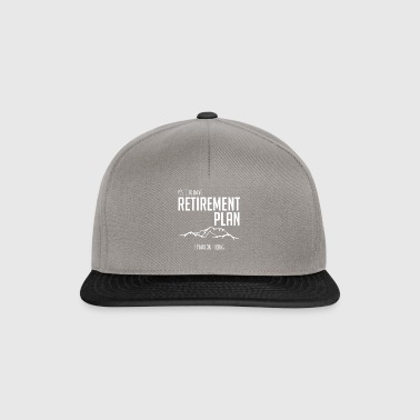 Climbing - mountains - pension - gift - Snapback Cap