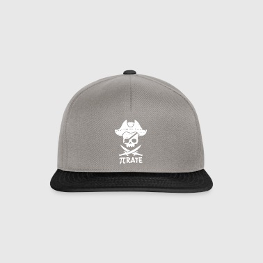 Pi Pirate Cross Sword Morsom matematikk Pi Day - Snapback-caps