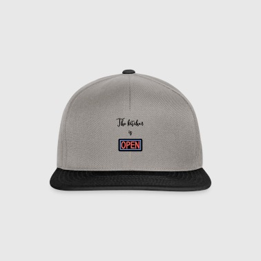 The kitchen is open - Snapback Cap