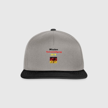 World Cup Mission titel verdedigen in 2018 - Snapback cap