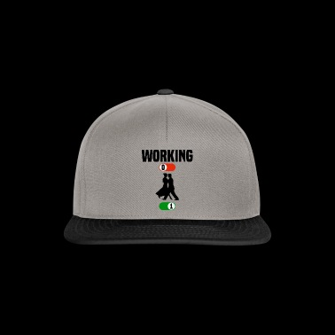 Working Job OFF dance dancing sport ON gift - Snapback Cap