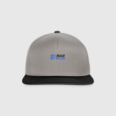 My boat My rules, gift for sailors - Snapback Cap