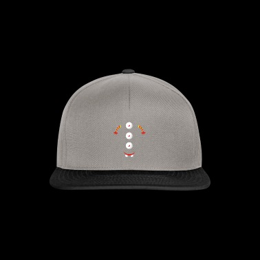 3 boutons design - Casquette snapback