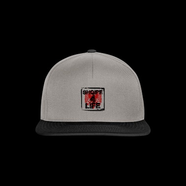 shqipe 4 life albanian t-shirt with red eagle - Snapback Cap