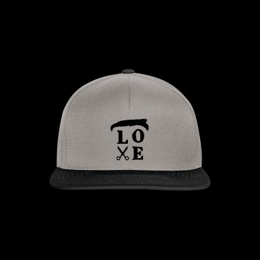 Love Hairs Tee Shirt - Gorra Snapback