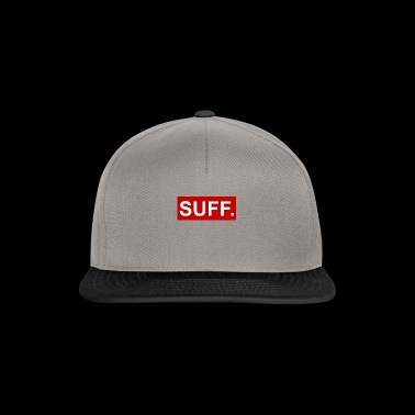 cool SUFF rouge-blanc - Casquette snapback