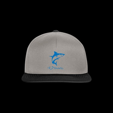 Love Sharks - Gorra Snapback