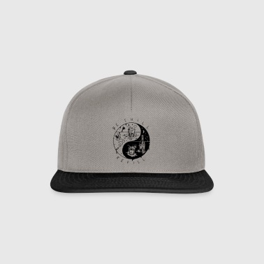 être recharge froid ying yang - Casquette snapback