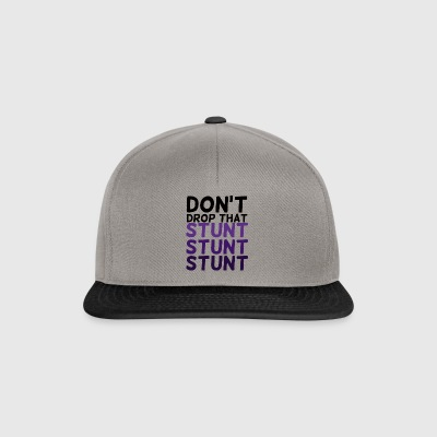 Cheerleader: Don´t Drop That Stunt Stunt Stunt - Snapback Cap