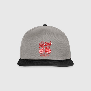 Ride With Pride2 - Snapback Cap