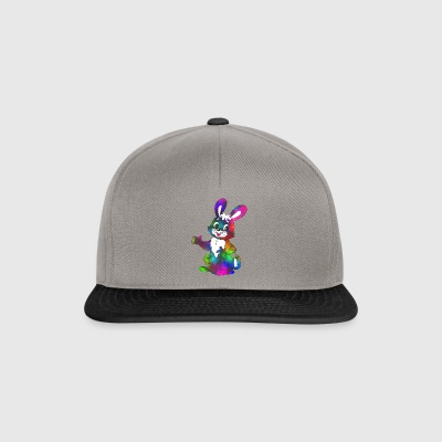 Colorful Easter Bunny super dolce - Snapback Cap