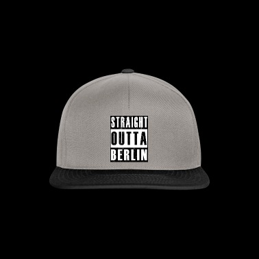 Straight Outta Berlin - Limited Edition - Snapback Cap