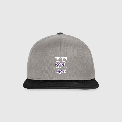 Money can't buy love, but shoes! - Snapback Cap