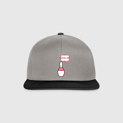 Bowling / Bowler: Spare Me - Snapback Cap