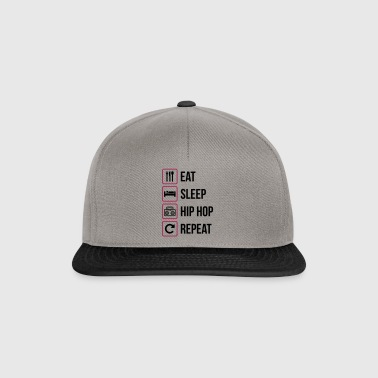 Eat Sleep Hip Hop Repeat - Snapback Cap