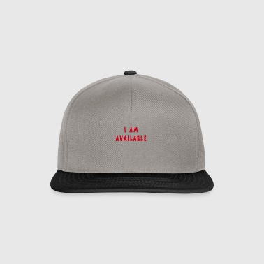 Am Available - Snapback Cap