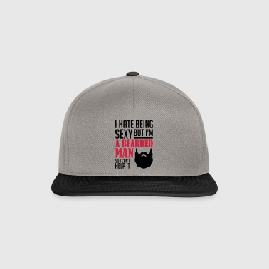 A Bearded man - Snapback Cap