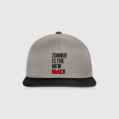Zombie: Zombie Is The New Red - Snapback Cap