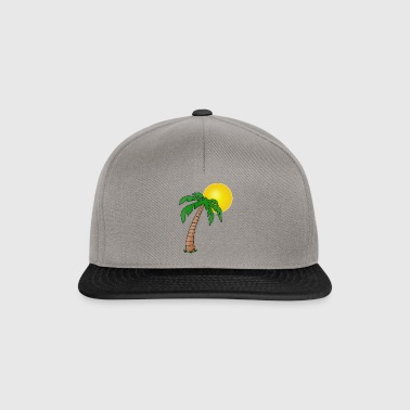 Palm with sun - Snapback Cap