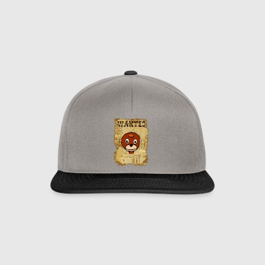 Funny Cool Wanted Western Monkey Gift Idea - Snapback Cap