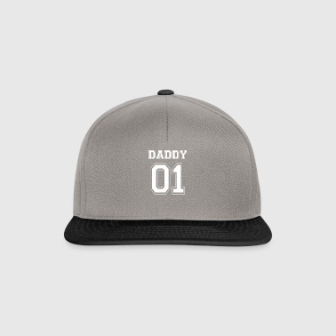 DADDY 01 - WHITE EDITION - Snapback Cap