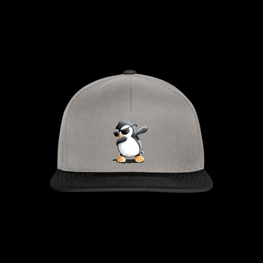 Dabbing Penguin - Dab Dance - Cool - Comic - Fun - Snapback Cap