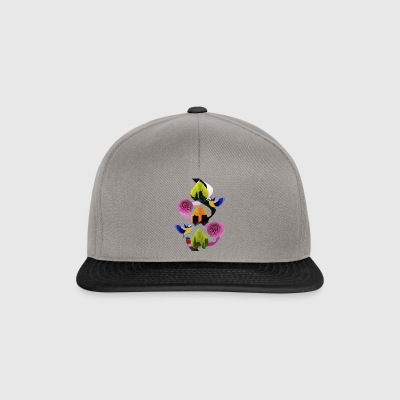Løv Blomster Bird City - Snapback-caps