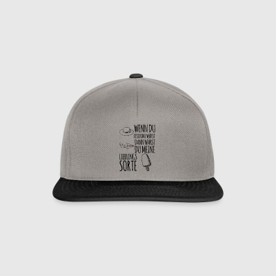 hvis du er is - Snapback Cap