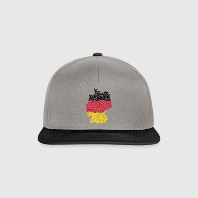 Germany map - Snapback Cap