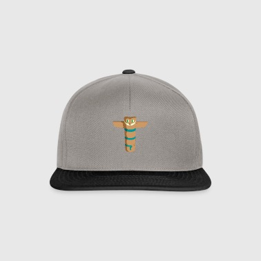 Owl Indiens Totem - Casquette snapback