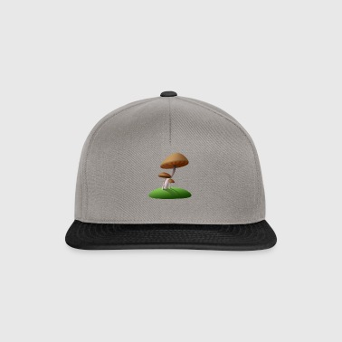 mushrooms - Snapback Cap