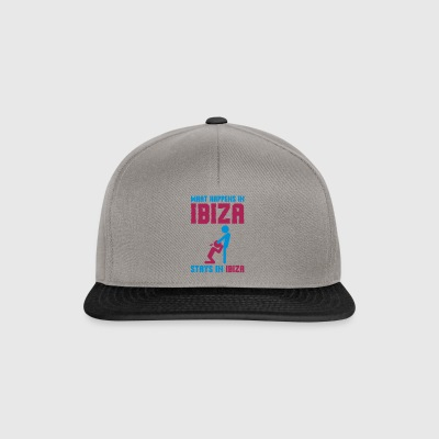 Ibiza what happens there - Snapback Cap
