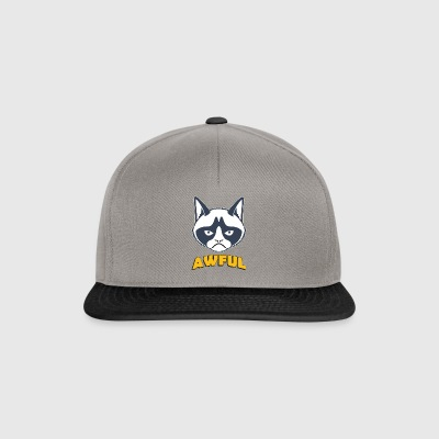 Grumpy cat sayings terrible Grumpy cat nope - Gorra Snapback