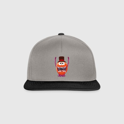 Party Crasher monstre avec cylindre - Casquette snapback