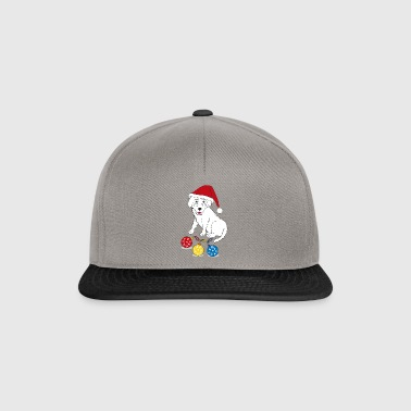 Puppy Merry Christmas - Snapback-caps