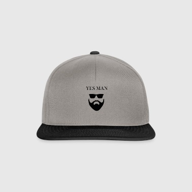 yes man - Snapback Cap