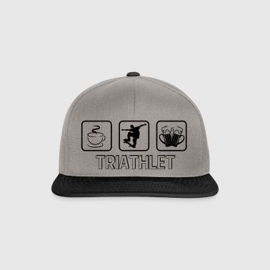 Triathlete skateboard - Snapback Cap
