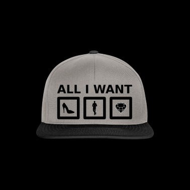 All I want (female) - Snapback Cap