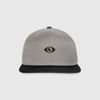 the eye that does not see - Snapback Cap