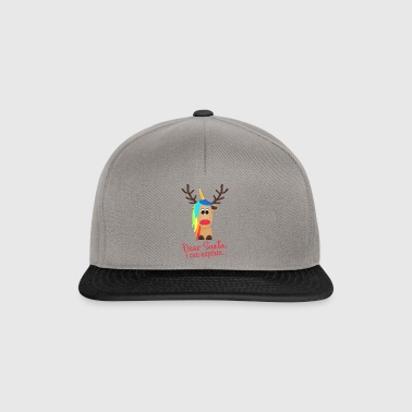 rendier Unicorn - Snapback cap