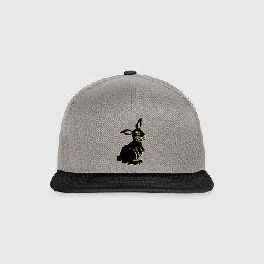 Easter bunny gold bunny noble spring gift idea - Snapback Cap