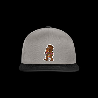 Bigfoot Sasquatch Autismuss ruban de conscience - Casquette snapback