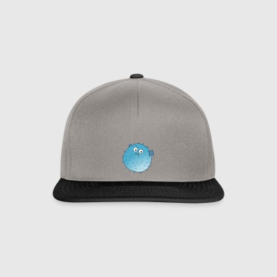 poissons puffer - Casquette snapback