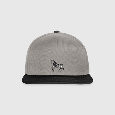 Zebra Illustration - Snapback Cap
