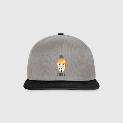 New Look Transparent / Anonym Trump - Snapback-caps
