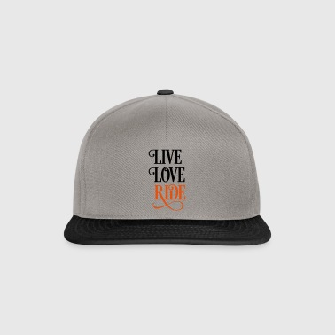 2541614 15919821 liveloveride - Snapback Cap